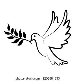 peace dove sign