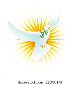 holy spirit dove images stock photos vectors shutterstock rh shutterstock com Signs of the Holy Spirit Christian Dove Clip Art