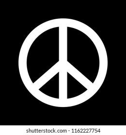 Peace icon symbol