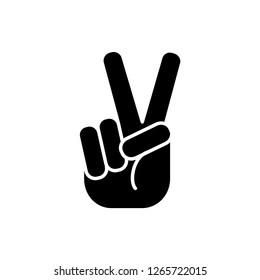 peace icon vector template