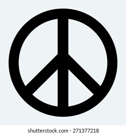 Peace sign.