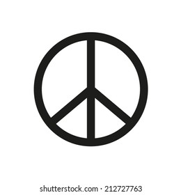 Peace sign - vector