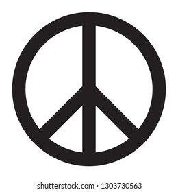Peace sign vector illustration