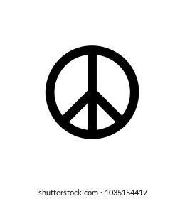 Peace Symbol icon Vector illustration, EPS10.