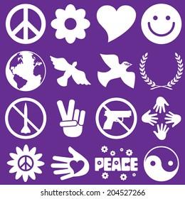 Peace Symbol Icons