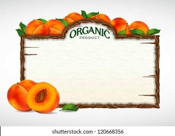 peach menu board