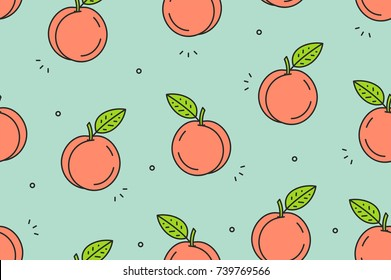 Royalty Free Peaches Wallpaper Stock Images Photos