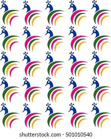 Peafowl Pattern Design