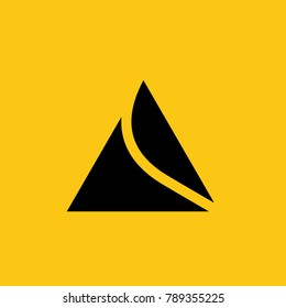 Peak logo for climbers and extreme sports tourists