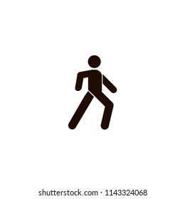 pedestrian icon. flat design