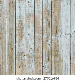 Peeled Painted Wooden Planks For Your Design. EPS10 vector.