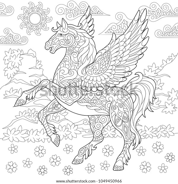 Greek Mythology: An Adult Coloring Book with Powerful Greek Gods ... | 620x600