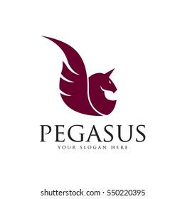 Pegasus, Flying horse logo design