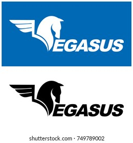 Pegasus Logo Vector Design