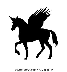 Unicorn Silhouette Images Stock Photos Vectors Shutterstock