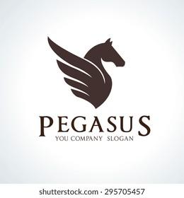 Pegasus Vector Logo Template