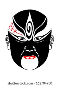 Peking opera mask design