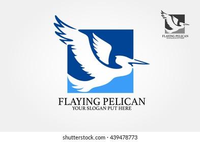 Pelican vector design