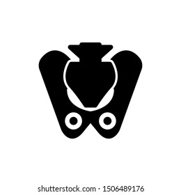 pelvis solid icon sign. pelvis symbol, logo illustration. Different style icons set. Pixel perfect vector graphics - Vector