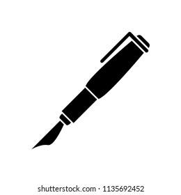 pen icon vector template