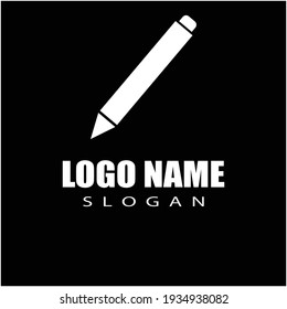 Pen Logo template Vector illustration design