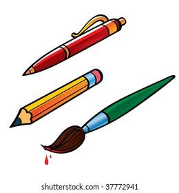 Pen Pencil Brush