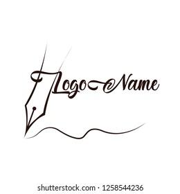 Pen tool logo