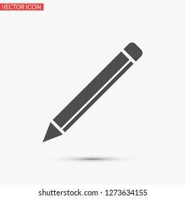 a pen vector icon 10 eps