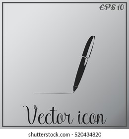 Pen vector icon