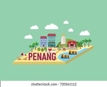 Penang Island, Malaysia. Chinese Translation : biscuit shop