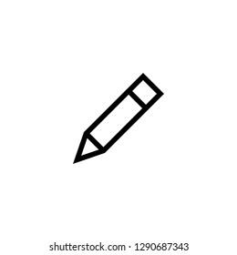 Pencil icon. Edit icon vector. sign up Icon vector