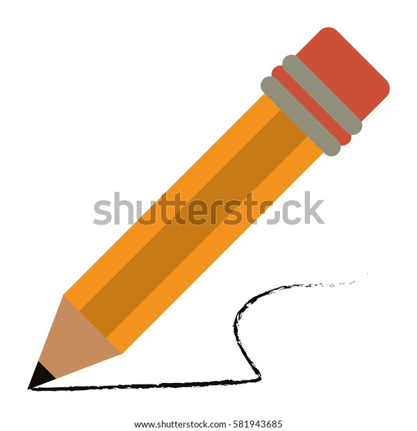 pencil school utensil wood