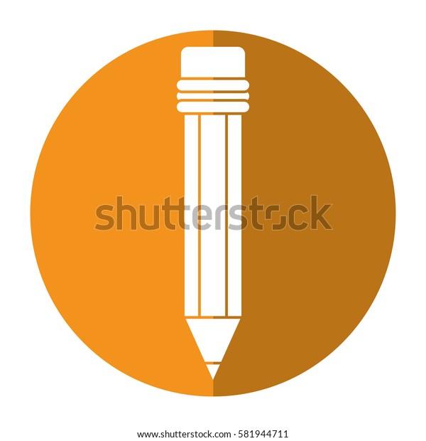 pencil school utensil wood shadow