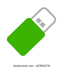 pendrive sign illustration, usb icon - technology connection symbol