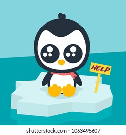 Penguin asking for help