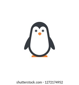 penguin cartoon icon