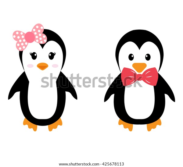 Пингвины девочки картинки