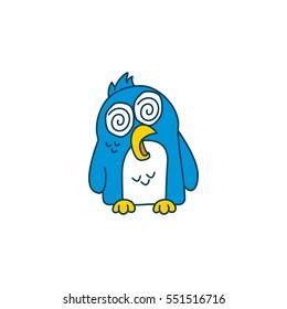 Penguin sticker set
