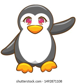 penguin vector graphic clipart design
