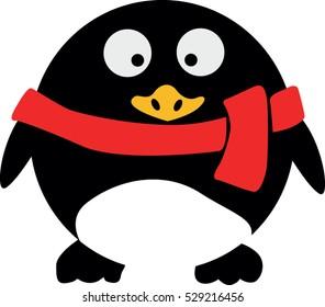 Penguin vector icon