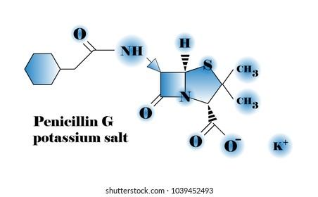 Penicillin G Chemical structure