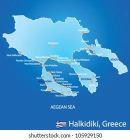 Corfu Greece Map Images Stock Photos Vectors Shutterstock