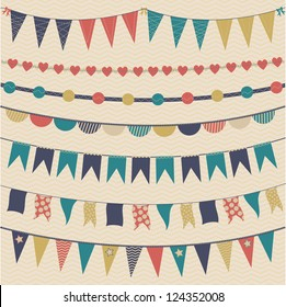 Pennant & bunting collection
