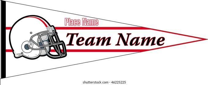 pennant Football team Withe