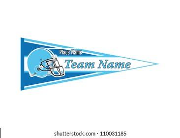 Pennant Sports Helmet football