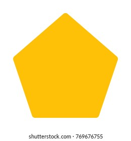 pentagon shaped polygon