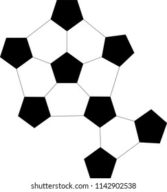 Pentagram Geometric Pattern