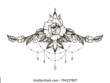 Tattoo Sketch Images Stock Photos Vectors Shutterstock