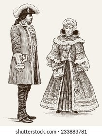 people of 18-th century