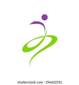 People Abstract Logo